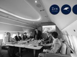 Private Jet, Airplane,
